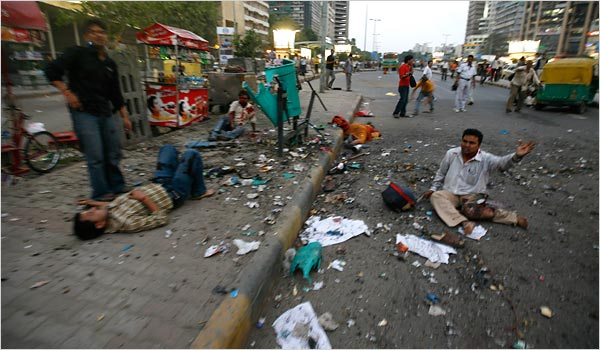 Bomb Blasts in Delhi, September 13th 2008
