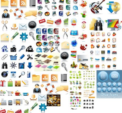 Web and Blog Icons
