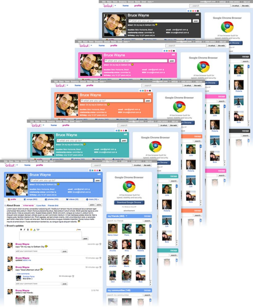 New Version of Orkut